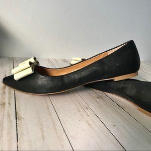 J. Crew Shoes - J. Crew black leather flats